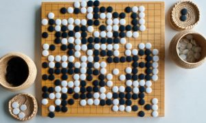 Completed Game of Go