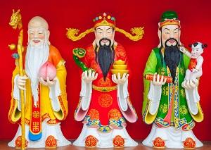 Three Chinese Gods