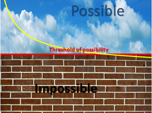 Threshold of Possibility