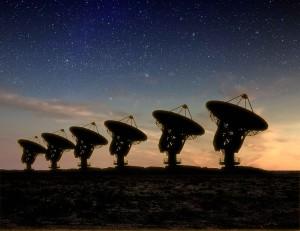 SETI Dish Farm